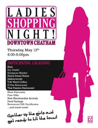 ladies night out in chatham nj